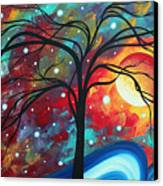 Envision The Beauty By Madart Canvas Print by Megan Duncanson