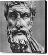 Epicurus (342?-270 B.c.) Canvas Print