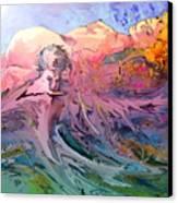 Eroscape 10 Canvas Print