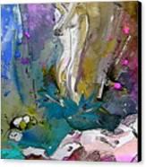 Eroscape 1104 Canvas Print