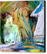 Eroscape 15  1 Canvas Print