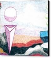 Escape From The Prison Of Negativity Canvas Print