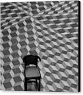 Escher-like Chair Canvas Print