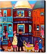 Esplanade Street Sabbath Walk Canvas Print