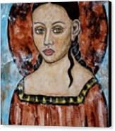 Esther Canvas Print by Rain Ririn