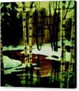 European Spring Canvas Print