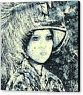 Evalina Canvas Print