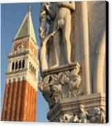 Eve And Bell Tower In Venice At San Marco Canvas Print