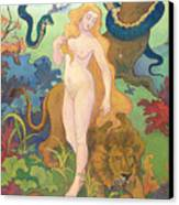 Eve Canvas Print by Paul Ranson