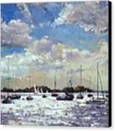 Evening Light - Gulf Of Morbihan Canvas Print