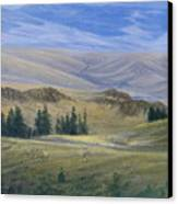 Evening Near Kamloops Canvas Print