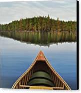 Evening Paddle  Canvas Print