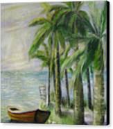 Evening Serenity Canvas Print