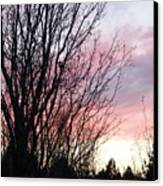 Evening Sky - October 27 Canvas Print