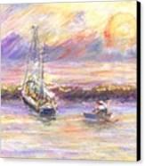 Evening Tide Canvas Print
