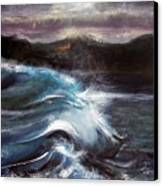 Evening Wave Canvas Print