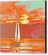 Eventful Evening 2 Canvas Print