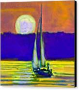 Eventful Evening I Canvas Print