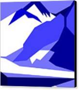 Everest Blue Canvas Print