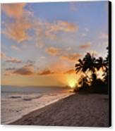 Ewa Beach Sunset 2 - Oahu Hawaii Canvas Print