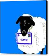 Ewe Have Mail Canvas Print