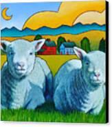 Ewe Two Canvas Print