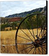 Ewing-snell Ranch 3 Canvas Print by Larry Ricker