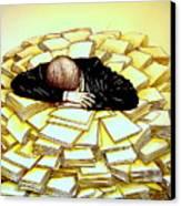Exhaustive Bureaucracy Canvas Print by Paulo Zerbato