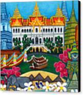 Exotic Bangkok Canvas Print by Lisa  Lorenz