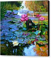 Expressions From The Garden Canvas Print