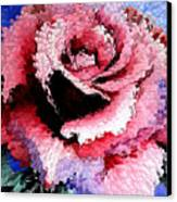Extruded Rose Canvas Print
