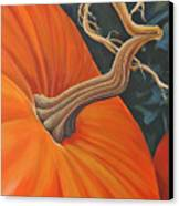 Exuberant Pumpkin Canvas Print