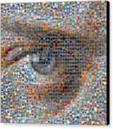 Eye 2 Canvas Print by Boy Sees Hearts