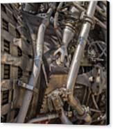 F-1 Rocket Engine Canvas Print by Allen Sheffield