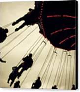 Fair Flying Canvas Print by Kerry Langel