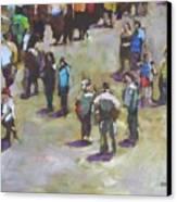 Fairgoers Canvas Print