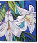 Faith Lily One Canvas Print