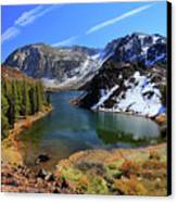 Fall At Ellery Lake Canvas Print
