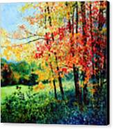 Fall Color Canvas Print by Hanne Lore Koehler