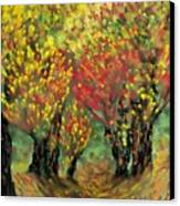 Fall Impression Canvas Print