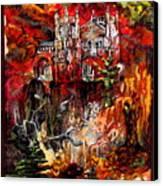 Fall Canvas Print by Kimberly Simon