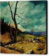 Fall Landscape 56 Canvas Print