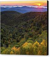 Fall On The Blue Ridge Parkway. Canvas Print by Itai Minovitz