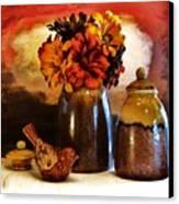 Fall Still Life Canvas Print by Marsha Heiken