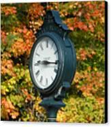 Fall Time Canvas Print