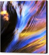 Fall Water Canvas Print