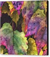 Fallen Canvas Print by Casey Rasmussen White