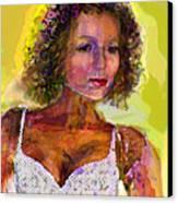 Fallingangel Canvas Print