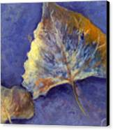 Fanciful Leaves Canvas Print