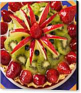 Fancy Tart Pie Canvas Print by Garry Gay